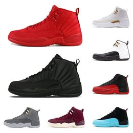 890529295aa navy blue mens shoes Coupons - 12 12s Basketball shoes for mens Winterized  WNTR Gym red