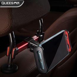 2019 ipad мини-сиденье заднее крепление Автомобильный телефон Планшетный держатель на подголовник Заднее сиденье Подставка для 4-11 дюймов Ipad Смартфоны Kindle fire Air mini дешево ipad мини-сиденье заднее крепление