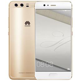 2019 smartphone en acier inoxydable Huawei P10 d'origine plus 4G LTE Cell Phone 6 Go RAM 64 Go 128 Go ROM Kirin 960 Octa base Android 5.5 pouces 20MP ID d'empreintes digitales NFC téléphone mobile