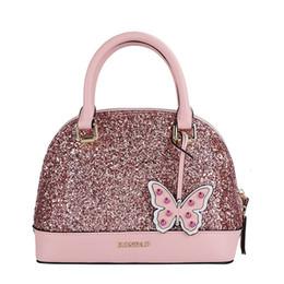 Cor rosa shell on-line-Sugao rosa mulheres sacos designer de luxo bolsas shell bag genuíno bolsa de couro bolsa de ombro mulheres famosa marca designer bag 3 cor