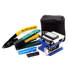 Kit d'outils de fibre optique 6 en 1 FTTH avec couperet de fibre FC-6S et décapant de fraiseuse CFS-2 + câble de dérivation Pince à dénuder Utiliser du Ftth Fttx ? partir de fabricateur