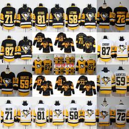 Jerseys pingüinos online-87 Sidney Crosby Pittsburgh Penguins Stadium Series 2019 Camisetas alternativas Evgeni Malkin Kris Letang Jake Guentzel Phil Kessel Hornqvist