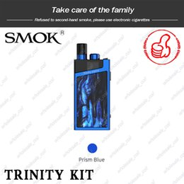 кнопочные замки Скидка SMOK Trinity Alpha Kit 2.8 мл. Стручковая система Встроенная батарея емкостью 1000 мАч Крышка для заполнения типа push-up Уникальная кнопка блокировки Устройство Vape 100% оригинал