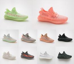 Zapatillas deportivas V2 para hombre y para mujer Zapatillas negras Noir CLAY GID Hiperespacio 3M Luminoso estático Reflectante de las zapatillas de baloncesto desde fabricantes