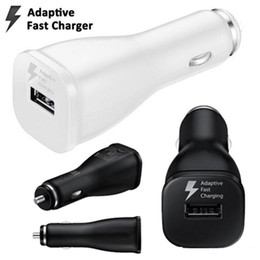 dock para tablet universal Desconto Carregador de carro rápido adaptativa única USB Car Charger Doca Adapter 5V 2A 9v 1.67a Universal Carregador de isqueiro para Samsung S6 S7 S8 nota 4 tablet pc