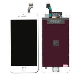 Display LCD para iPhone 6 LCD 6S com o Touch Screen digitador completa com quadro Assembléia completa Peças de Reposição Black / White de