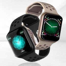 bluetooth spaß Rabatt Uhr IP67 der intelligenten Uhren F8 imprägniern 15 Tage lang Bereitschaftsherzfrequenz-Blutdruck Smartwatch Unterstützung IOS androides freies Verschiffen