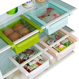 Argentina Cocina multifuncional Refrigerador Rack de almacenamiento Nevera Congelador Estante Titular Cajón extraíble Cajas de almacenamiento de alimentos para el hogar Suministro