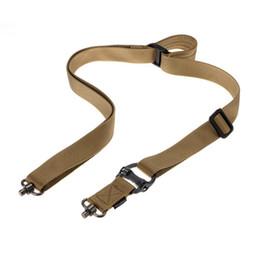 eixos de flecha por atacado Desconto MS4 Missão Tactical Belt Multi-função de Corda de Nylon Strap Ponto Único com Ponto Duplo com Corda de Segurança 3 Seleção de Cor