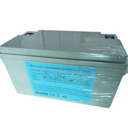 12.8 V 100ah 2500 ciclos 100 Ampere Discharge 12 v lifepo4 baterias recarregáveis por atacado lifepo4 bateria para AGV mini EV de Fornecedores de mini barco solar