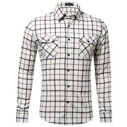 Distribuidores de descuento Camisas De Bolsillo Doble Hombres Modas ... 554961c8cde3e