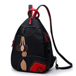 Sacchetto della cartella del bambino dei zainhi dello spalla online-2018 New Mommy Bag Borsa a tracolla doppia impermeabile in nylon Borsa da donna a tracolla obliqua da viaggio alla moda per bambini