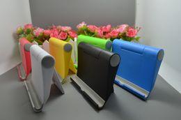 2019 desktop-handys WholesaleMulticolor Desktop Universal Klapphalter Handy-Ausstellungsstandplatz Tragbarer Lazy Stent für alle Tablet-Handys rabatt desktop-handys