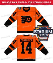 Philadelphia Flyers 2019 Stadium Series 79 Carter Hart Claude Giroux Shayne  Gostisbehere Travis Konecny Ivan Provorov Jakub Voracek Jerseys ivan  provorov ... d469c151a