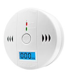 200sets del sensor del detector de monóxido de carbono portátil, pantalla LCD de monóxido de carbono de alarma, la alarma de vigilancia CO seguridad del detector de seguridad en el hogar desde fabricantes