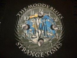 9e510e16b Mens Vintage 1999 The Moody Blues Strange Times Tour T Shirt Size XL Men  Women Unisex Fashion tshirt Free Shipping black