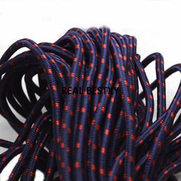 braccialetto in nylon Sconti 5m / lotto cavi di corda circa 5mm marina di nylon intrecciato per i braccialetti fai da te collana materiale corde di nylon prezzo all'ingrosso di fabbrica