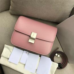 2019 malas único queque 2019 Sacos de Designer de moda bolsa de ombro caixa de couro de alta qualidade clássico mulheres bolsas sacos crossbody s70