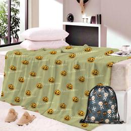 toalla de siesta Rebajas Dropship Skull Dog Nap Blanket Manta Super Soft Animal Dinosaurio Velvet Plush Throw Blanket Art para niños Beach Towel Throw