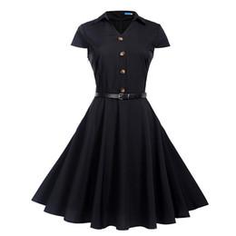 b4ebffd07 Distribuidores de descuento Vestidos Vintage De Rockabilly | Tallas ...