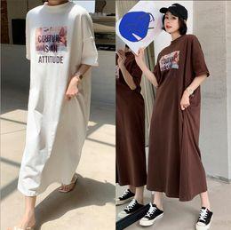 2019 roupa de algodão de linho de maternidade 2019 nova marca verão maternidade dress mulher casual impressão tamanho grande vestidos mulher grávida clothing md-01430