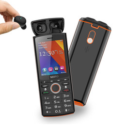mtk telefono cellulare sim Sconti Schermo SERVO R25 2.8 Doppia SIM del telefono mobile 6000mAh Power Bank Bluetooth 5.0 TWS senza fili di auricolari GSM di musica dell'altoparlante del cellulare