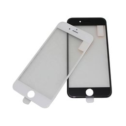 iphone plus touch 5.5 screen Promo Codes - 10PCS 4 ln 1 Cold Press Frame Glass Lens with Frame + OCA + Polarized for iPhone 7 6 6s plus 5 5S Screen Replacement