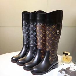 Botas de alta calidad para mujer Zapatos de punta redonda Calzado Tacones de cuña Botas de mujer Zapatos con cremallera Mujer Tallas grandes Botas de mujer desde fabricantes