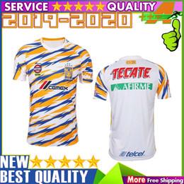 620860f25 2019 2020 UANL TIGRES New Third DE LA Soccer JERSEYS 19 20 Mexico Club LIGA  MX Maillot De Foot Home Yellow 6 star GIGNAC football shirts