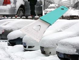 aplicador de vinil Desconto B14 carro neve pá pá remoção de neve desumidificador removedor de neve inverno carro suprimentos 18X7.3 * 0.7 cm