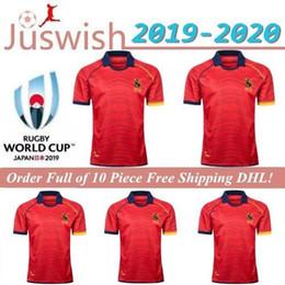 jersey de rugby ao atacado Desconto Liga Internacional Espanha 2019 Início Rugby camisa da seleção Rugby Jerseys League shirt Espanha União shirts S-3XL Mayorista