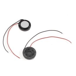 Magneti 15mm online-Altoparlante tweeter magnetico da 2 pezzi 15mm Round Horn 8 Ohm 1W