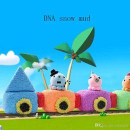 DNA Snow Mud Respectueux de l'environnement, Sécuritaire, Non toxique, Flocons de neige huileux, Plusieurs couleurs, En option, Sentez-vous libre de bricoler Snowflake Mud ? partir de fabricateur