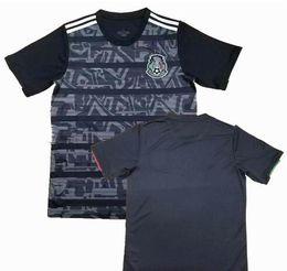 México futebol jérseis preto on-line-2019 preto MÉXICO FUTEBOL JERSEYS 2018 copa do mundo CHICHARITO CHUCKY LOZANO DOS SANTOS HERRERA LAYUN México camisa de futebol camisetas de futbol