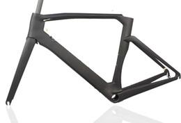 bicicleta de fibra de carbono preta fosca Desconto Quadro de bicicleta de carbono completo Toray quadros de Corrida de Estrada de fibra de Carbono Espanha Bicicleta Quadros De Bicicleta Bicicleta Frameset