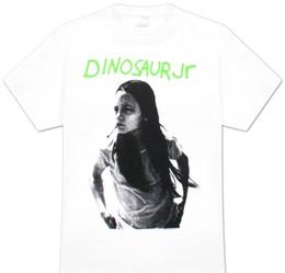short de dinosaure vert Promotion T-shirt décontracté à manches courtes pour les hommes Vêtements d'été Dinosaur Jr Green Mind T-shirt