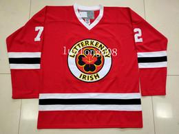 Ирландский Letterkenny 69 SHORESY хоккей Джерси вышивка сшитые настроить любое количество и название трикотажные изделия от