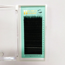 j curl lash individuale Sconti Handmade Individual rEyelash Extensions 8-15mm C o D curl handmade Fans estensione ciglia finte visone ciglia spedizione