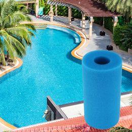 Filtros de esponja on-line-Piscina Esponja Filtro Esponja Reutilizável Lavável Biofoam Limpeza Água Esponja Cartucho para Intex Tipo Limpo Piscina Acessórios