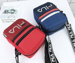 Bolso de marca para hombres y mujeres bolsos de tendencia de moda hip hop deportes con mosca muerta bolsa de mensajero bolsa de malla al aire libre bolsa de hombro envío libre caliente desde fabricantes