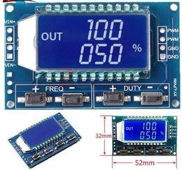 Argentina Generador de señal PWM Pulso Frecuencia Ciclo de trabajo Módulo ajustable Pantalla LCD 3.3V-30V PWM Módulo de placa Suministro