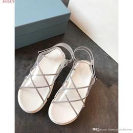 2019 chunky sandálias de salto baixo Primavera / verão 2019 coleção robusto sandálias de salto alto, sandálias Elemento transparente para as mulheres, embalagem completa desconto chunky sandálias de salto baixo