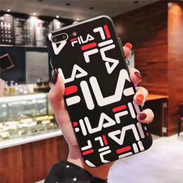 graffiti iphone hüllen Rabatt Einteilige Luxustelefonkastenart und weise TPU für iPhone 6S 7 8 P X XS Graffiti beschriftet rückseitige Abdeckung des Entwerfertelefons für Geschenke