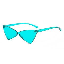 Sexy Cat Eye Sunglasses Mujeres Vintage Cat eye Gafas de sol UV400 Mujer Pequeño Triángulo Anteojos Gafas de mariposa regalo envío gratis desde fabricantes