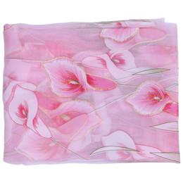 vorhang falten stile Rabatt LBER Floral Voile Vorhang Panel Rod Tasche Net Slot Top Küche Cafe Vorhänge Lily Muster, Pink