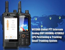 Nuovi telefoni cellulari 3g online-2019 Globale Intercom NUOVO Cellulare walkie talkie 3G WCDMA WIFI Bluetooth radio bidirezionale