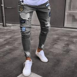 Jeans estilo rock para hombre online-Moda para hombre Robin Rock Revival Jeans Street Style Boy Jeans Pantalones de mezclilla Pantalones de diseñador Pantalones cortos de rock para hombres Nuevos jeans verdaderos para hombres