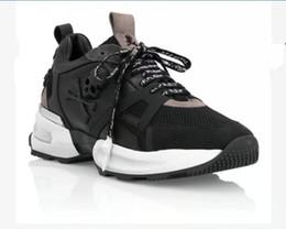 Кроссовки черепа онлайн-2019 Hot Arrive White Sneaker-Platform Мужская обувь 201799 лучшие звезды роскошный слой кожи заклепки черепа повседневная мужская обувь EUR38-45