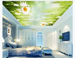 Berühmt Blume Schlafzimmer Tapete Grün Online Großhandel Vertriebspartner AF67