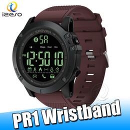 relojes deportivos de altímetro Rebajas SPOVAN PR1 Reloj Digital para Hombre Relojes Deportivos Impermeables Barómetro Altímetro Termómetro Podómetro Pulsera de Vigilancia izeso